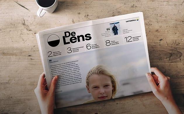 Vattenfall Krant Campaign
